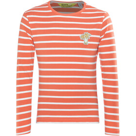 Regatta Carella - T-shirt manches longues Enfant - orange/blanc